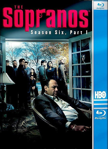 The Sopranos: Season 6 Part 1 (Blu-ray Disc)