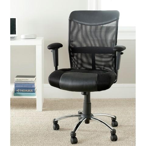 "Porch & Den Judi Black Desk Chair - 26"" x 25.4"" x 38.2"""