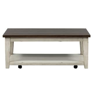 Buy Off White Coffee Console Sofa End Tables Online At Overstock