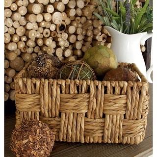 The Gray Barn Jartop Rectangular Wicker Baskets (Set of 2)