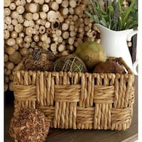 The Gray Barn Jartop Rectangular Wicker Baskets (Set of 2)