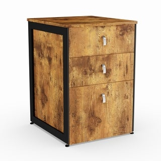 Carbon Loft Virgie Nutmeg File Cabinet