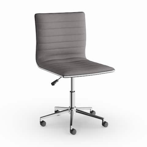 Carson Carrington Ornes Grey/ Chrome Office Chair