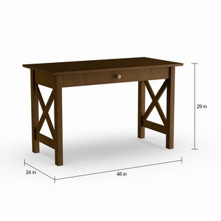 Pine Canopy Galax Walnut Wood Writing Desk