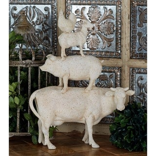 The Gray Barn Jartop Polystone Stacking Animals