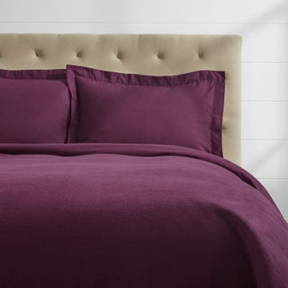 Luxury German Flannel Ultra Soft/ Heavyweight 3-piece 6-ounce Duvet Cover Set (More options available)