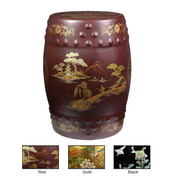 Handmade Classic Garden Stool (China)
