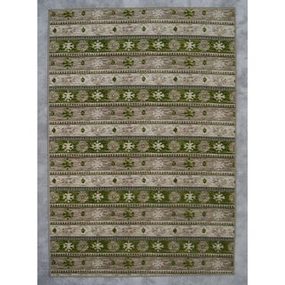 """Rug Tycoon Abstract Modern Contemporary Brown Rug - 2'7""""x7'2""""rectangular runner"""