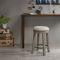 The Gray Barn Tipperary Grey Swivel Counter Stool