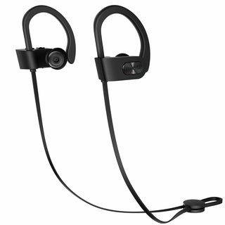 Mpow Flame Bluetooth Headphones with Armband, Car Charger, 2-in-1 Charging Cable, Carrying Pouch(5 Pcs Set)