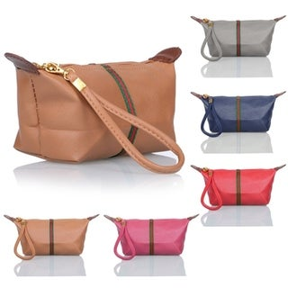 Women Card Coin holder Zip Wallet Faux Leather Clutch Purse Handbag