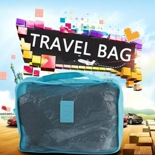 6pcs/Set Waterproof Travel Baggage Sorting Clothing Tidy Bag
