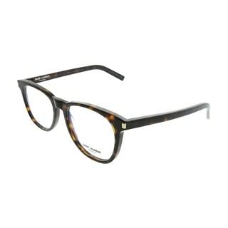 Saint Laurent Square SL 225 003 Unisex Havana Frame Eyeglasses
