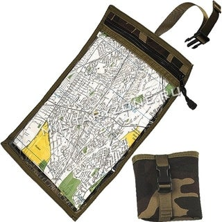 Rothco Map and Document Case Woodland Camo