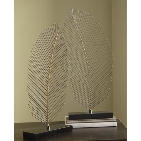 Eleutheria Metal Sculpture - Set of 2