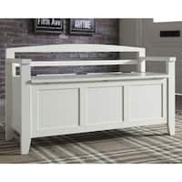 Terrific Buy Storage Benches White Cabin Lodge Online At Machost Co Dining Chair Design Ideas Machostcouk