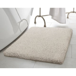 Laura Ashley Rachel Lurex 20 in. x 34 in. Bath Rug