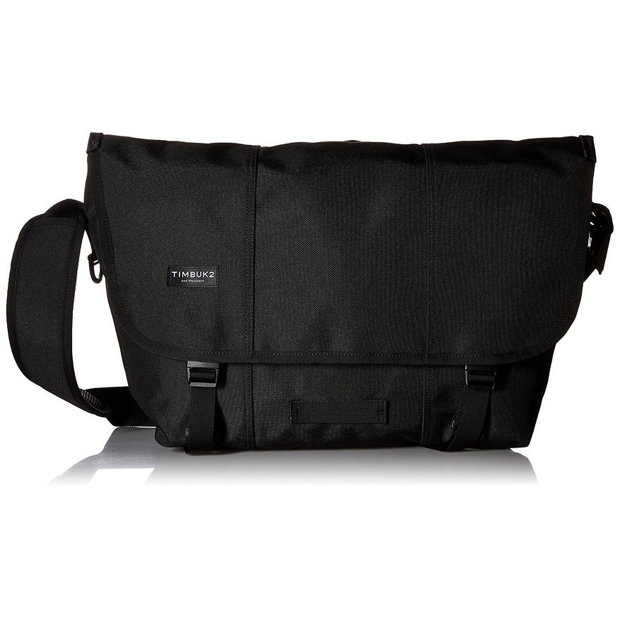 Timbuk2 Classic Messenger Bag Jet Black  Medium. Product Description  ... 4be11b75ec069