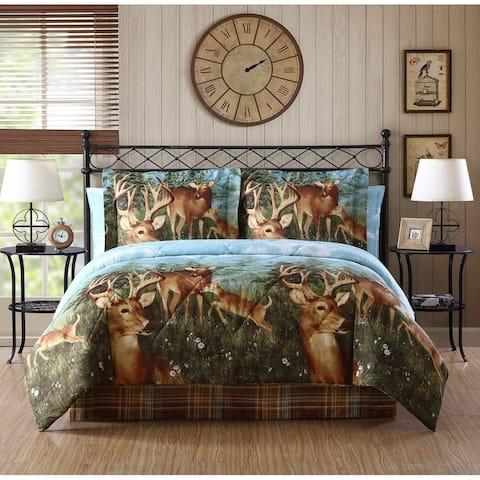 Mountain Ridge Deer Creek Bed in a Bag Comforter Set