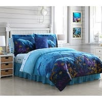 Ocean Cove Bed in a Bag Comforter Set