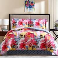 Lanai Printed Bed in A Bag Comforter Set