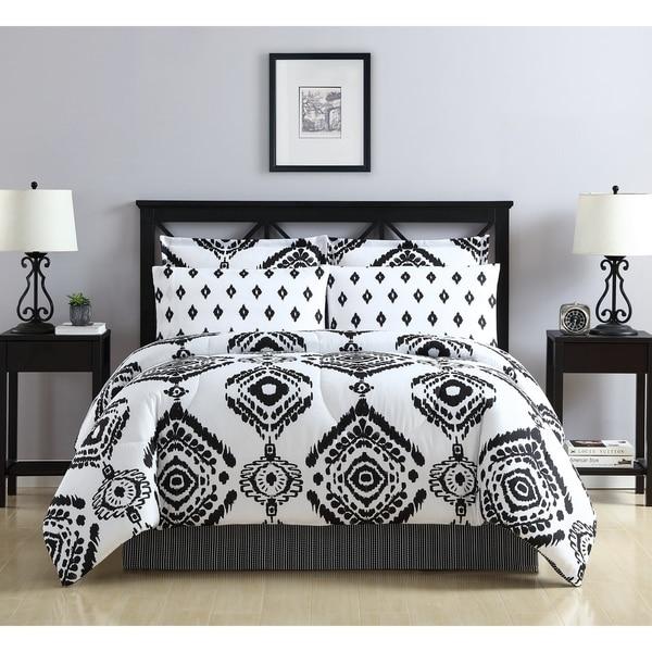 Lemon & Spice Navato Reversible Bed in A Bag Comforter Set