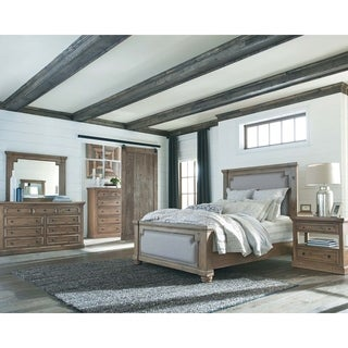 Copper Grove Bereza Smoke and Grey 5-piece Bedroom Set