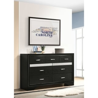 Image result for black dresser with mirror come a bed