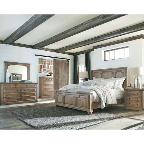 Carbon Loft Nightingale Smoke 4-piece Bedroom Set