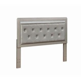 Anastasha Metallic Upholstered Headboard