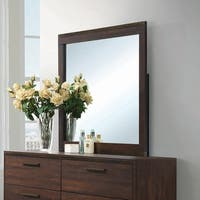 Edmonton Rustic Mirror - Brown