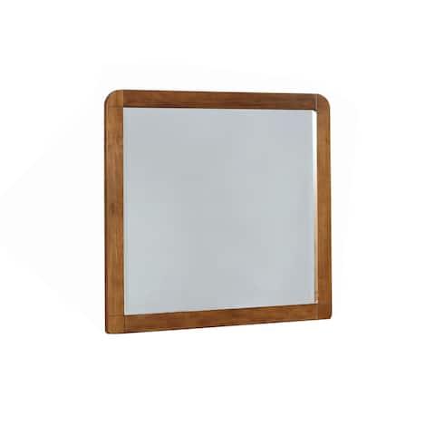 Robyn Dark Walnut Dresser Mirror - Brown