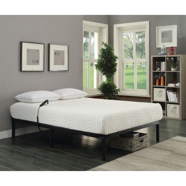 Shop Stanhope Black Adjustable Bed Base Overstock 22797698