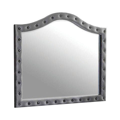 Deanna Metallic Mirror - Grey