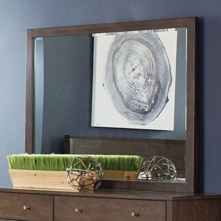 Lompoc Mid-century Modern Cappuccino Mirror