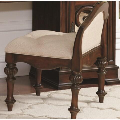 Ilana Antique Java Vanity Stool