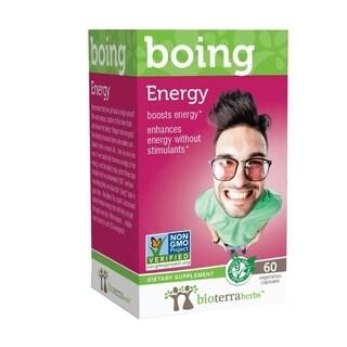 BioTerra Herbs Energy Boing Natural Herbal Supplement (60 Capsules)