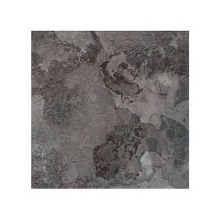 Portfolio 12x12 2.0mm Self Adhesive Vinyl Floor Tile - Midnight Marble - 9 Tiles/9 sq. ft.