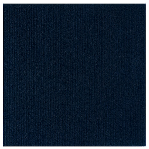Nexus 12x12 Self Adhesive Carpet Floor Tile - 12 Tiles/12 sq. Ft. - Navy