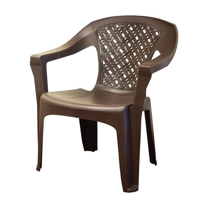 Admirable Adams Big Easy Stackable Polypropylene Woven Chair Forskolin Free Trial Chair Design Images Forskolin Free Trialorg