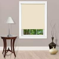 Cords Free Tear Down Room Darkening Window Shade Ivory