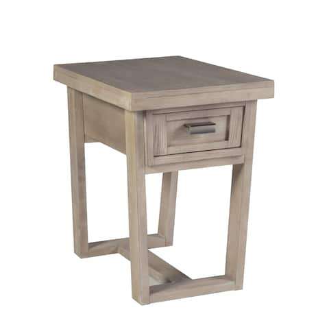 Graphite Chairside End Table by Panama Jack