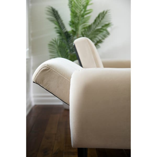 Tremendous Shop Abbyson Carlton Foldable Velvet Sofa Bed On Sale Bralicious Painted Fabric Chair Ideas Braliciousco