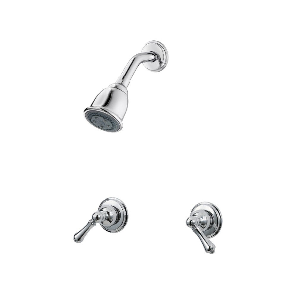 Shop Pfister 07 Series Two Handle Shower Chrome Overstock 22798209