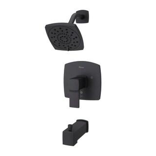 Pfister Deckard 1-Handle Tub & Shower Trim, Matte Black (LG89-8DAB)