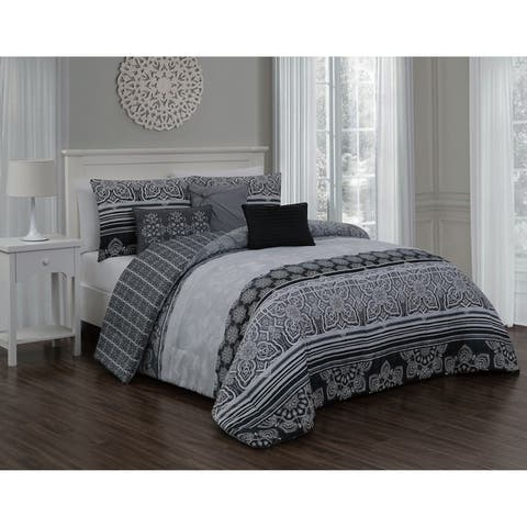 Gracewood Hollow Sidran 7-piece Comforter Set
