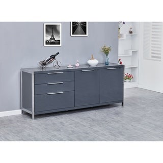 Best Quality Furniture Modern Lacquer 2-door, 3-drawer Cabinet