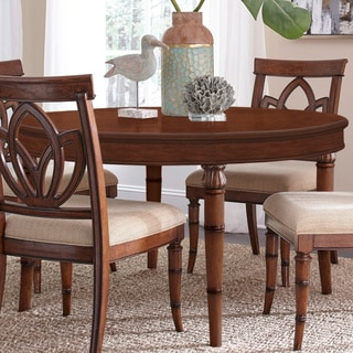 Copper Grove Reichenhall Round Wood Dining Table