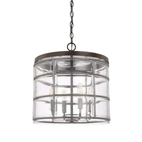 Colby 4-light Urban Grey Pendant
