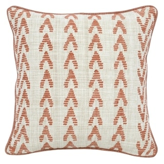 Kosas Home Osage Embroidered 22-inch Throw Pillow